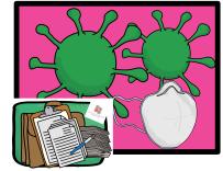 coronavirus, baja con coronavirus, trabajadores coronavirus, aislamiento, covid-19